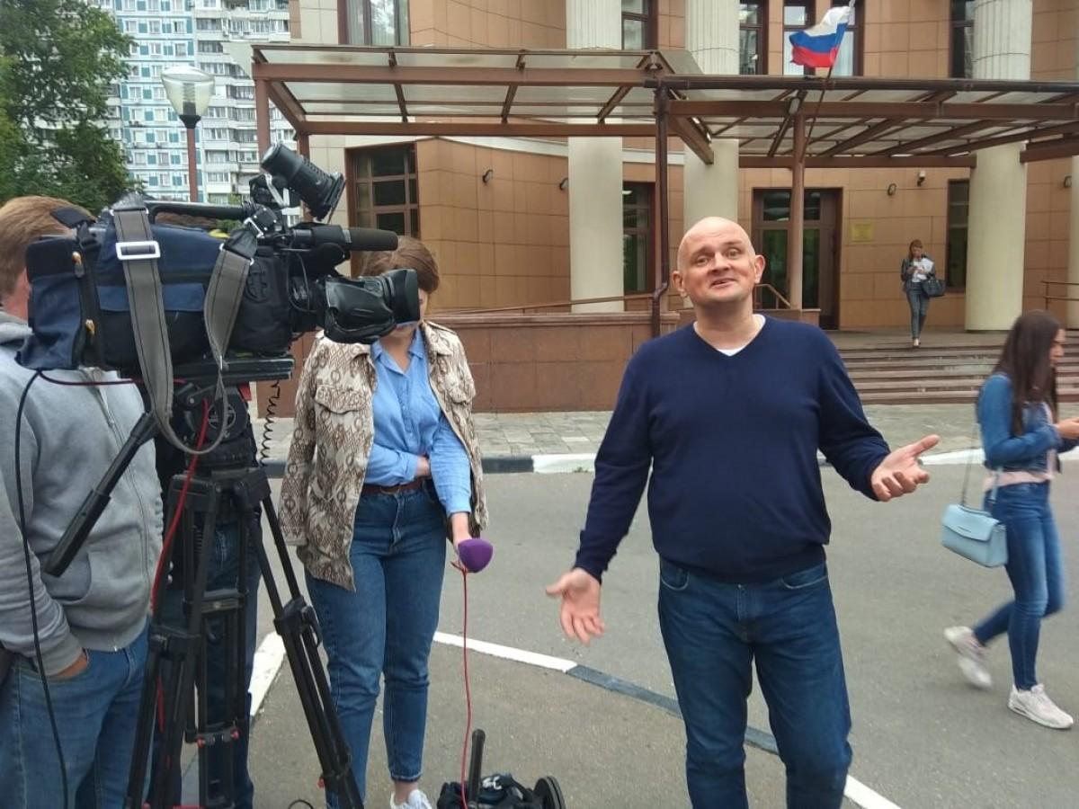 Сергей Фролов, Народный антирейдер